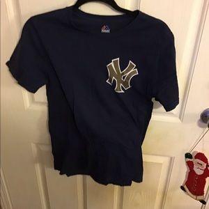 Majestic MLB Yankees Derek Jeter Tee
